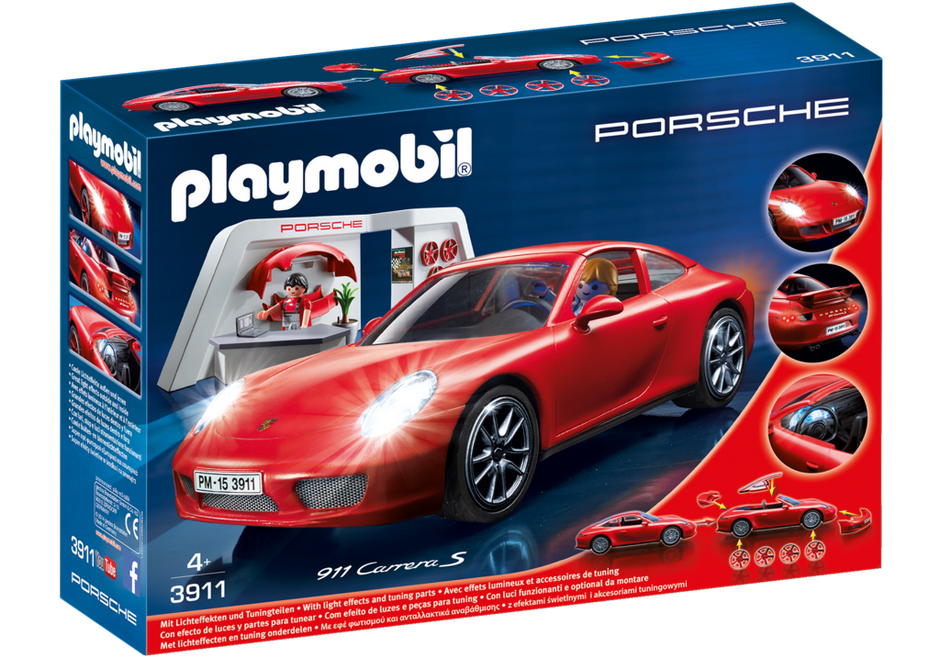 porsche 911 carrera s 3911 playmobil france. Black Bedroom Furniture Sets. Home Design Ideas