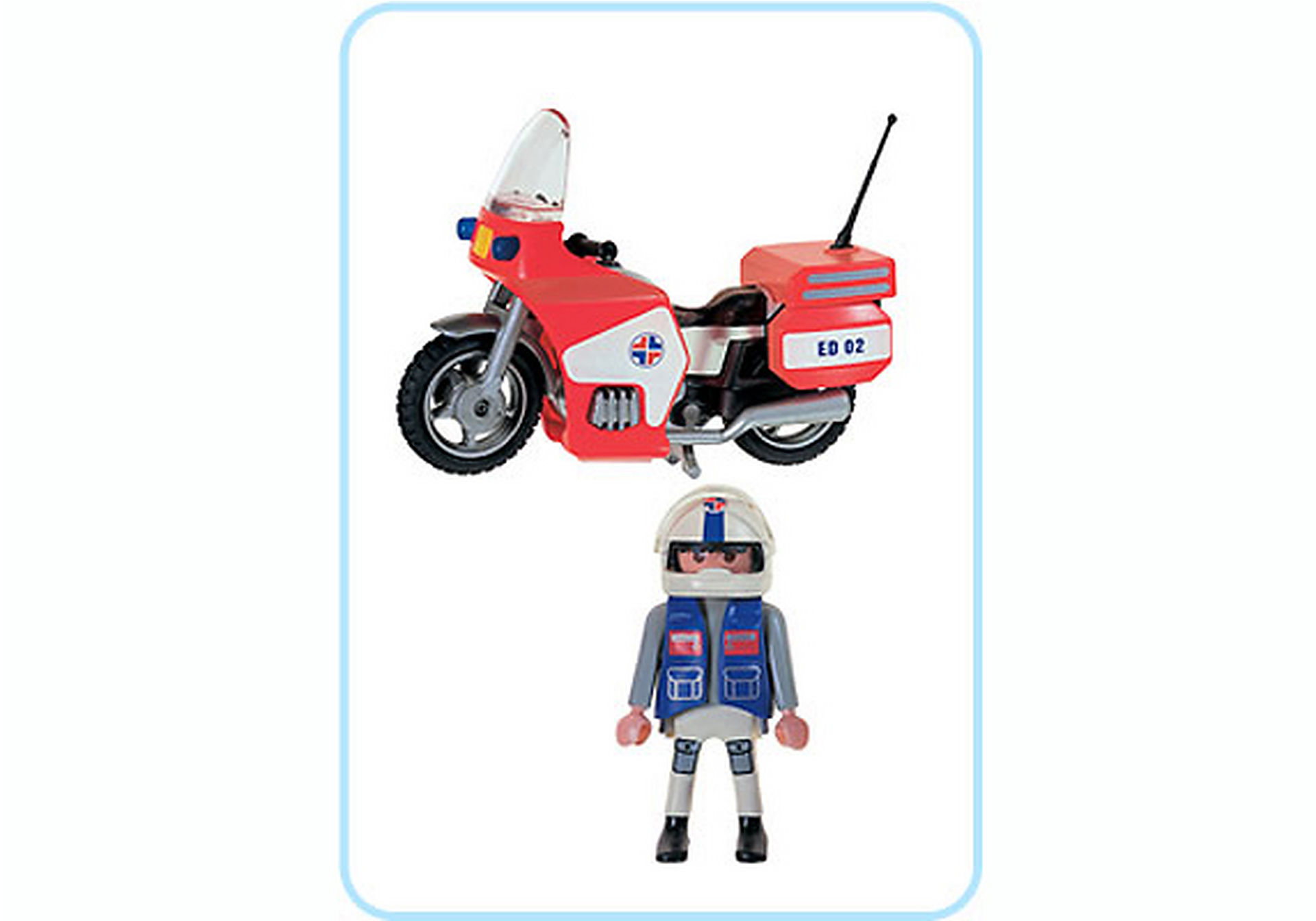3924-A Notarzt/Motorrad zoom image2