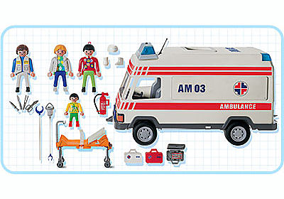 3925-A Secouristes / Ambulance detail image 2