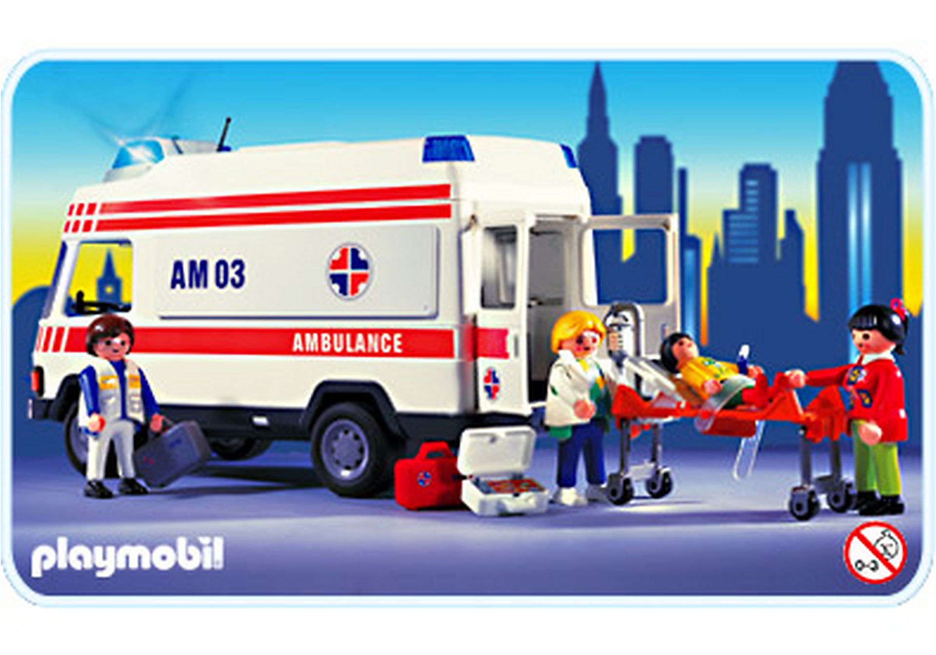 3925-A Secouristes / Ambulance zoom image1