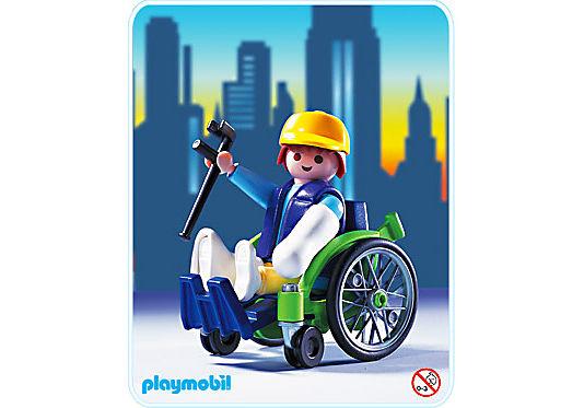 3928-A Patient / fauteuil roulant detail image 1