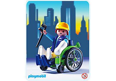 3928-A Patient mit Rollstuhl