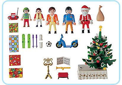 3931-A Famille / sapin de Noël detail image 2