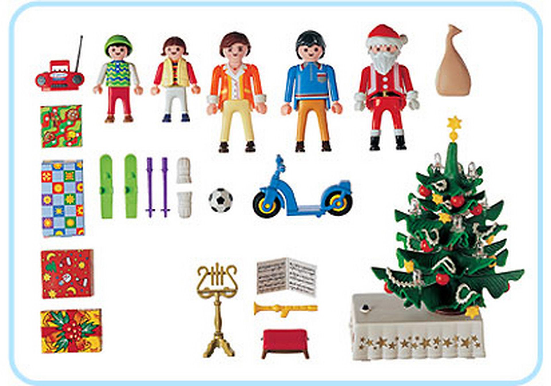 3931-A Famille / sapin de Noël zoom image2