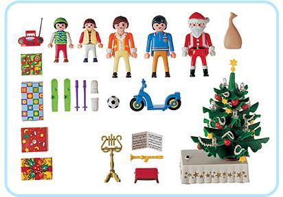 http://media.playmobil.com/i/playmobil/3931-A_product_box_back/Famille / sapin de Noël