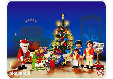 3931-A Famille / sapin de Noël