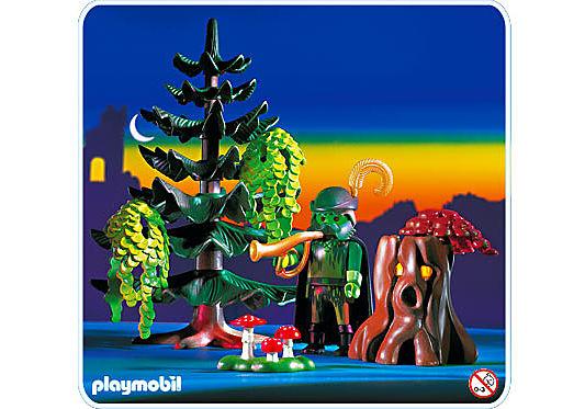 3933-A Génie de la forêt / arbre magique detail image 1