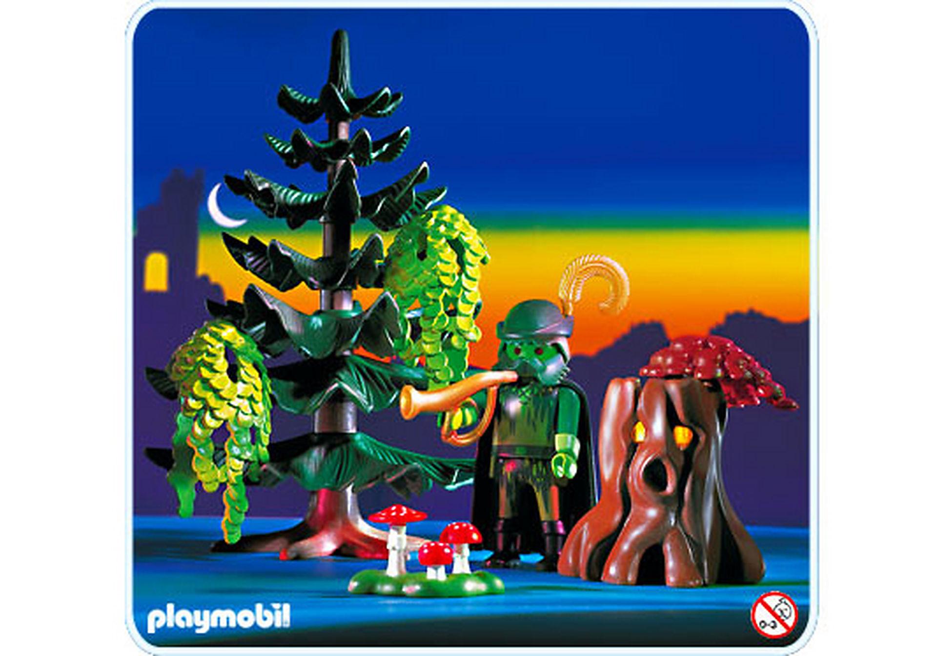 3933-A Génie de la forêt / arbre magique zoom image1