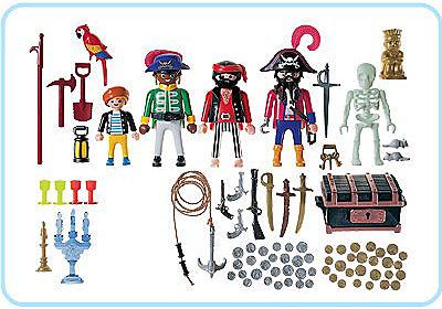 3939-A Pirates / trésor detail image 2