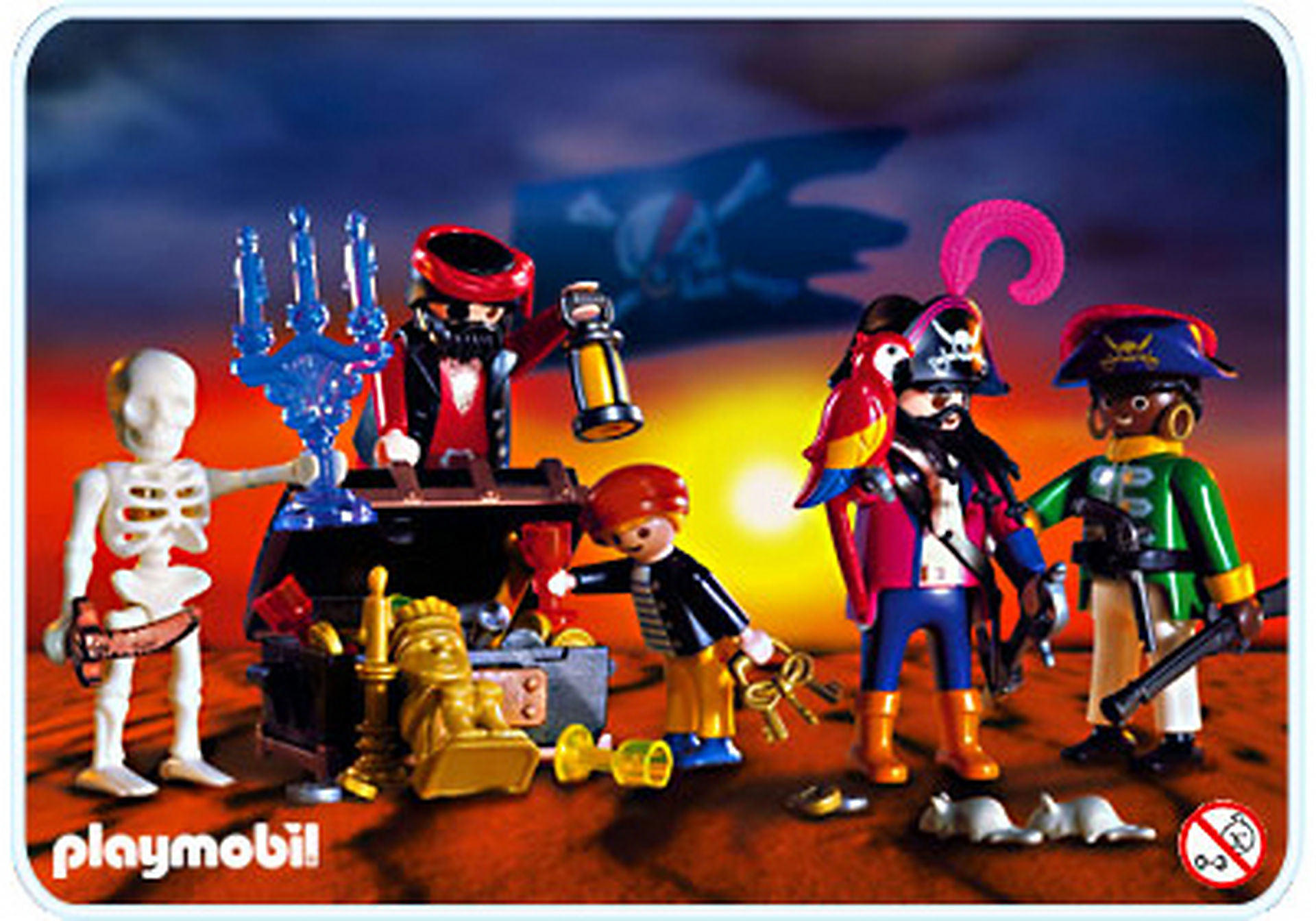 3939-A Pirates / trésor zoom image1