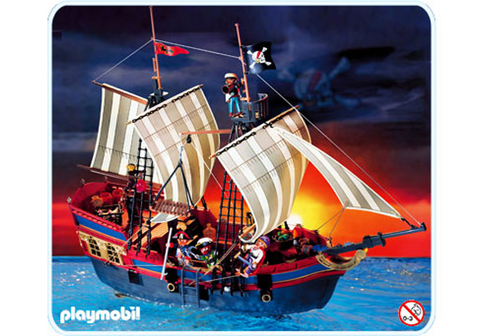 3940-A Grand bateau Pirates zoom image1