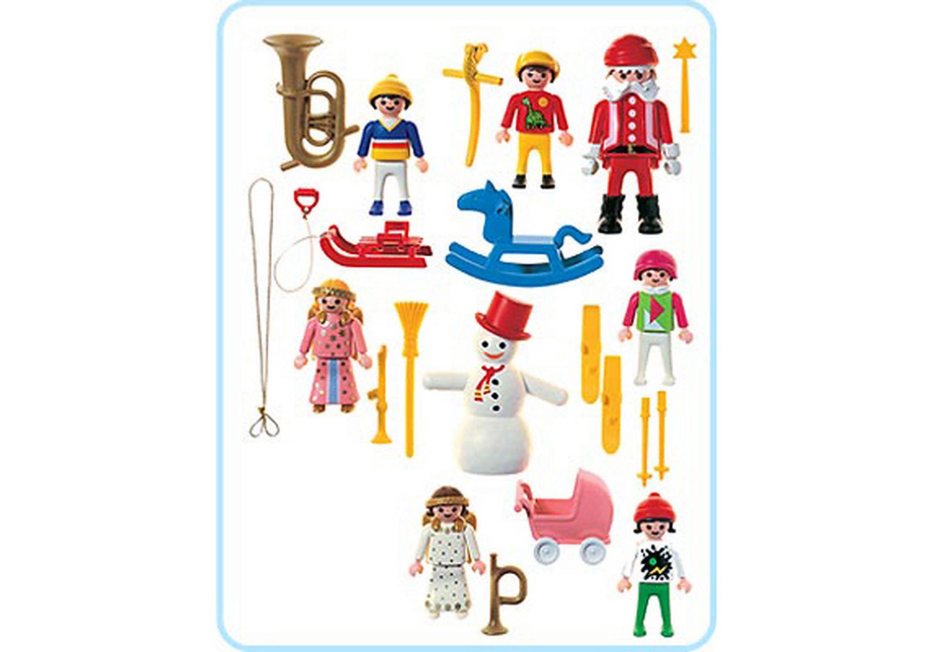3943-A 10 sujets décoration arbre de Noël zoom image2