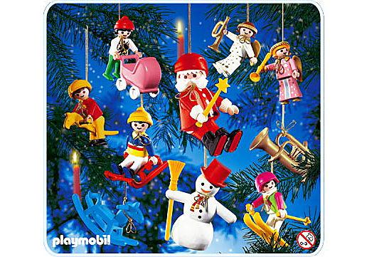 3943-A 10 sujets décoration arbre de Noël detail image 1