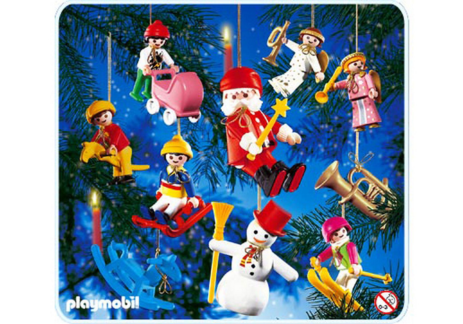 3943-A 10 sujets décoration arbre de Noël zoom image1