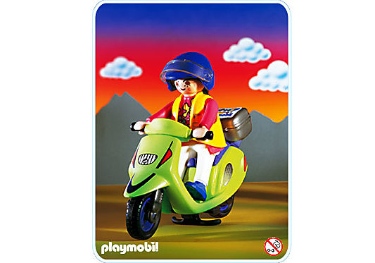 3946-A Motorroller detail image 1