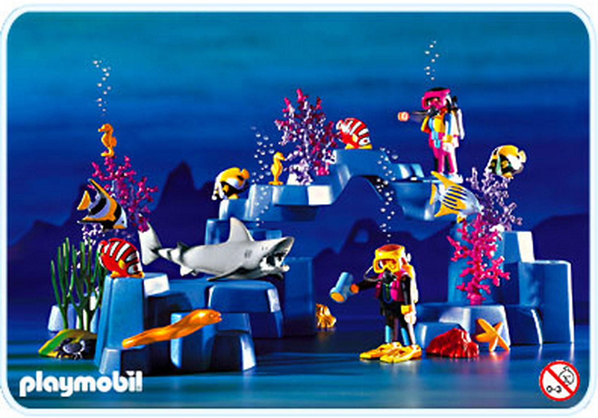 3953-A Plongeurs / lagon zoom image1