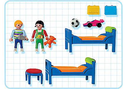 3964-A Etagenbett mit Kindern detail image 2