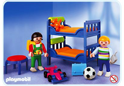 Chambre d enfants contemporaine 3964 A PLAYMOBIL France