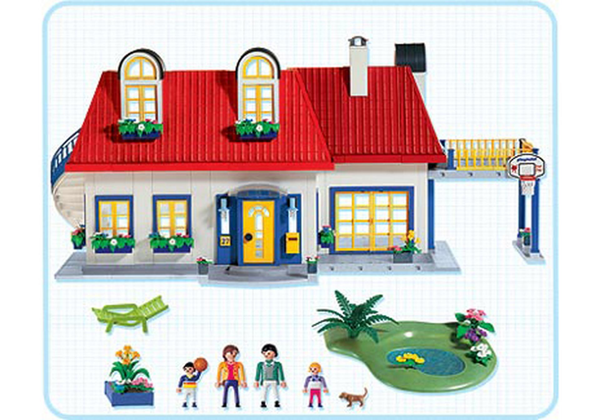 Maison contemporaine 3965 a playmobil france for Agrandissement maison moderne playmobil