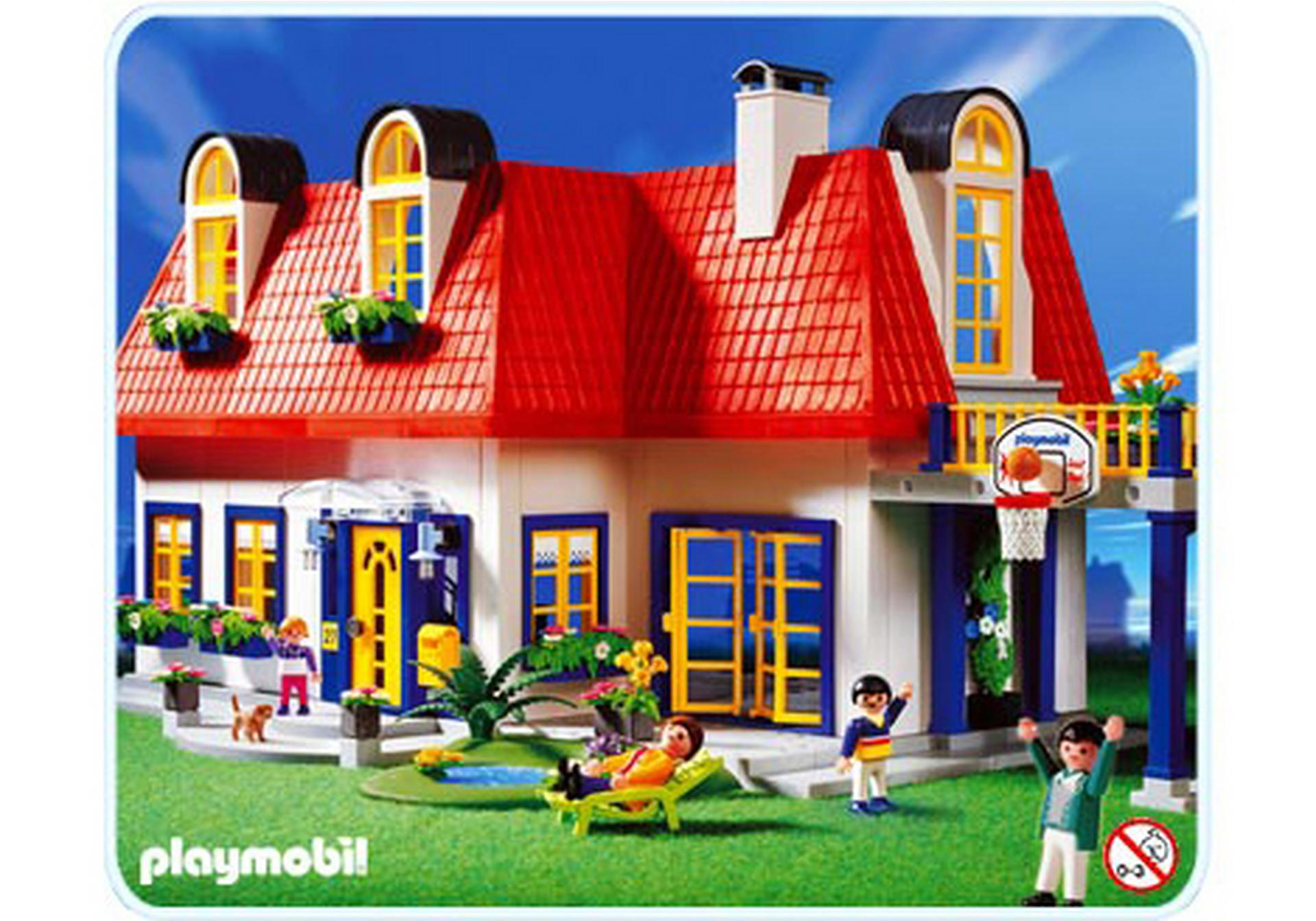 maison contemporaine 3965 a playmobil france. Black Bedroom Furniture Sets. Home Design Ideas