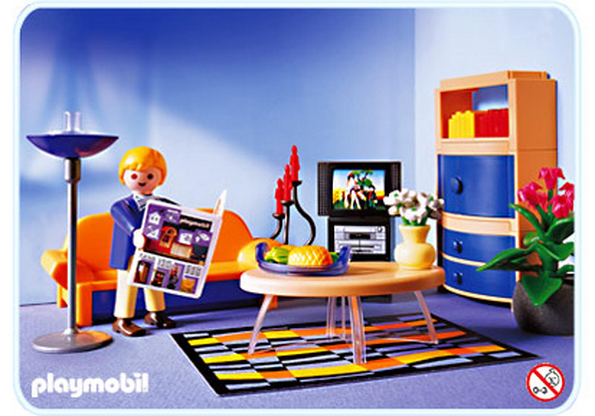 Salon contemporain 3966 a playmobil france for Jugendzimmer playmobil
