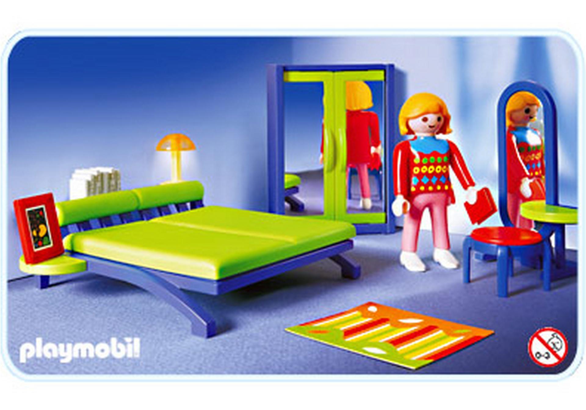 Chambre contemporaine 3967 a playmobil france for Playmobil chambre parents