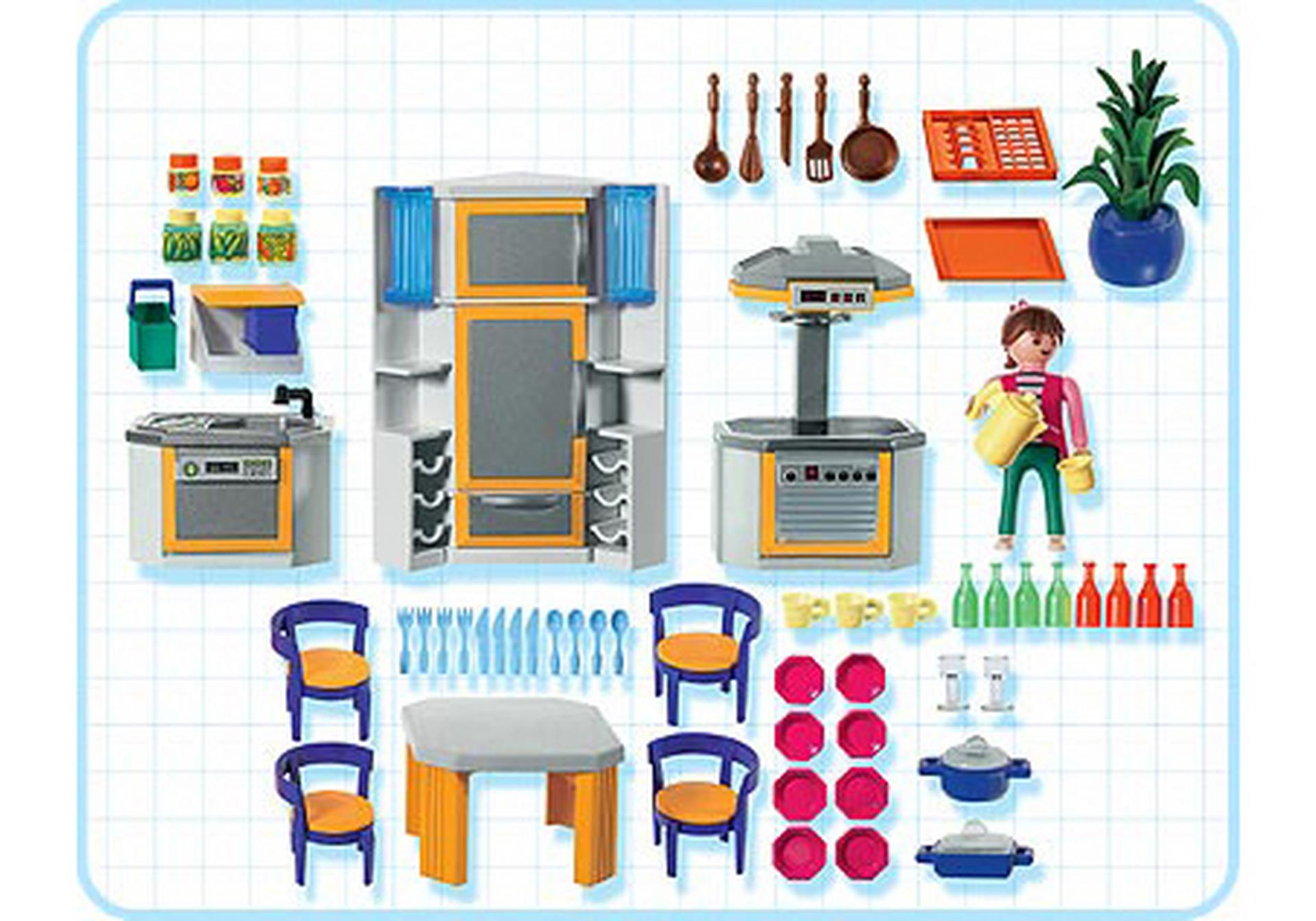Cuisine contemporaine - 3968-A - PLAYMOBIL® France