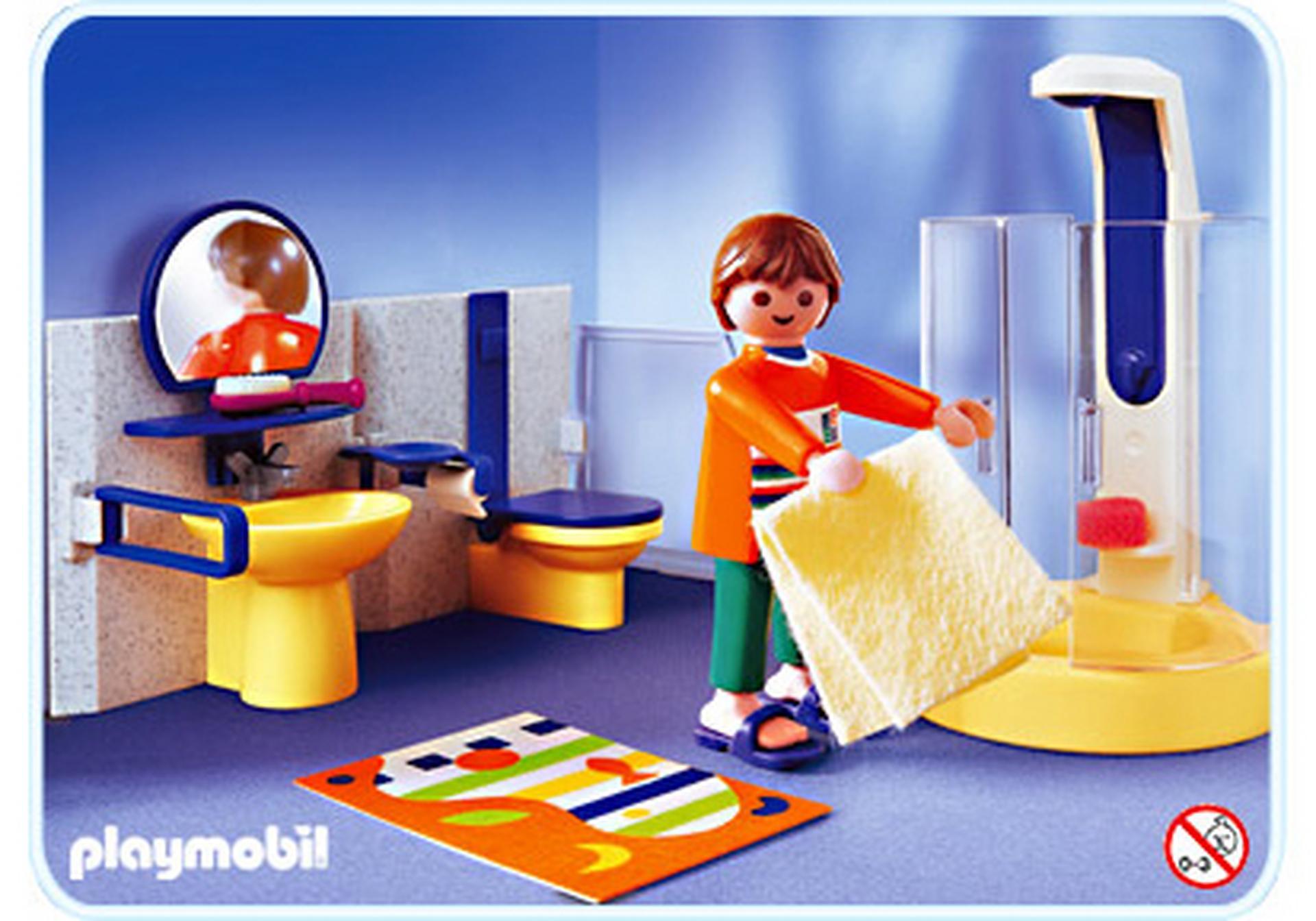 salle de bains contemporaine 3969 a playmobil france. Black Bedroom Furniture Sets. Home Design Ideas