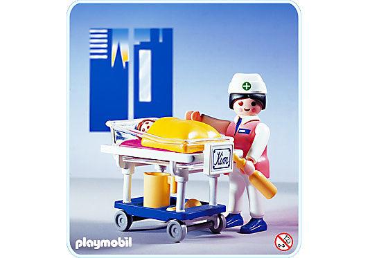 3979-A Infirmière/Bébé detail image 1