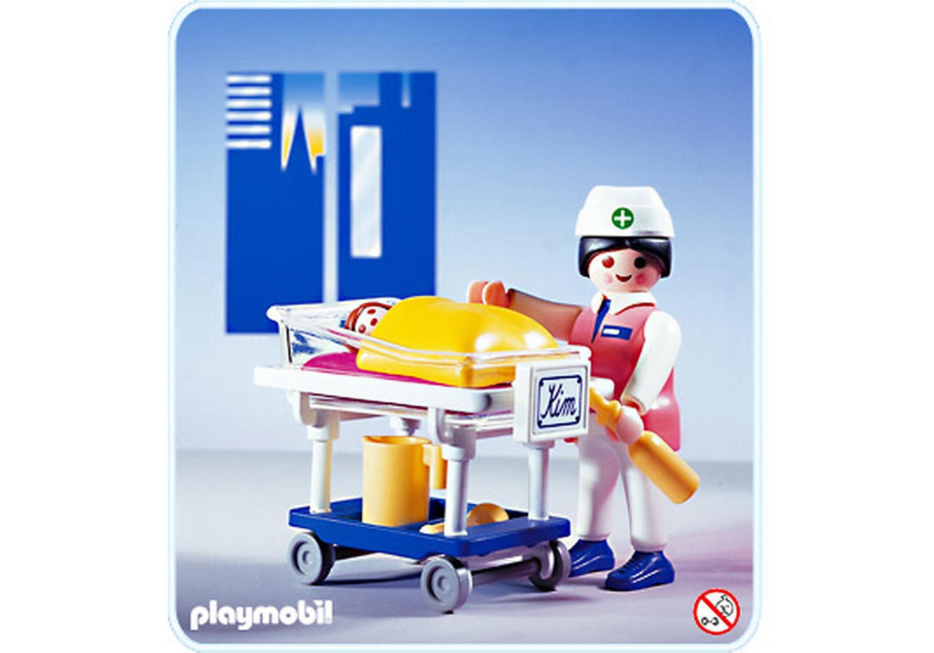 3979-A Infirmière/Bébé zoom image1