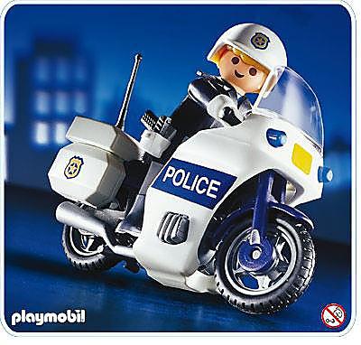 3986-A Motard de police detail image 1