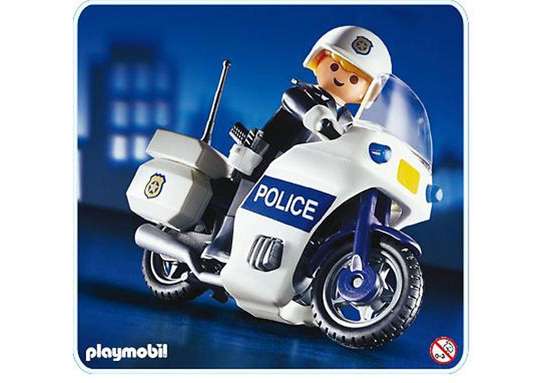 3986-A Motard de police zoom image1