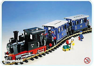 4000-A Set Personenzug mit Dampflok detail image 1