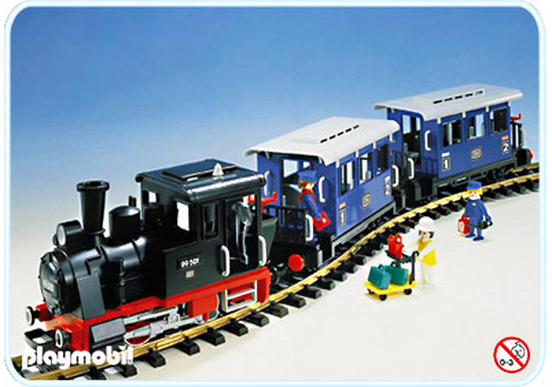 4000-A Set Personenzug mit Dampflok zoom image1