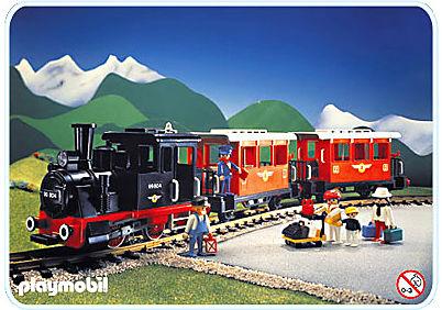 4001-A Personenzug-Set mit Dampflok detail image 1
