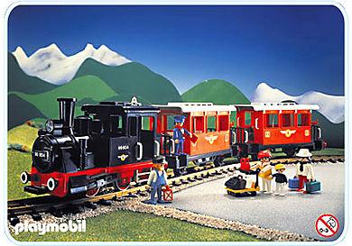 4001-A Personenzug-Set mit Dampflok
