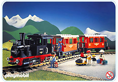 4001-A Train voyageur sans transformateur