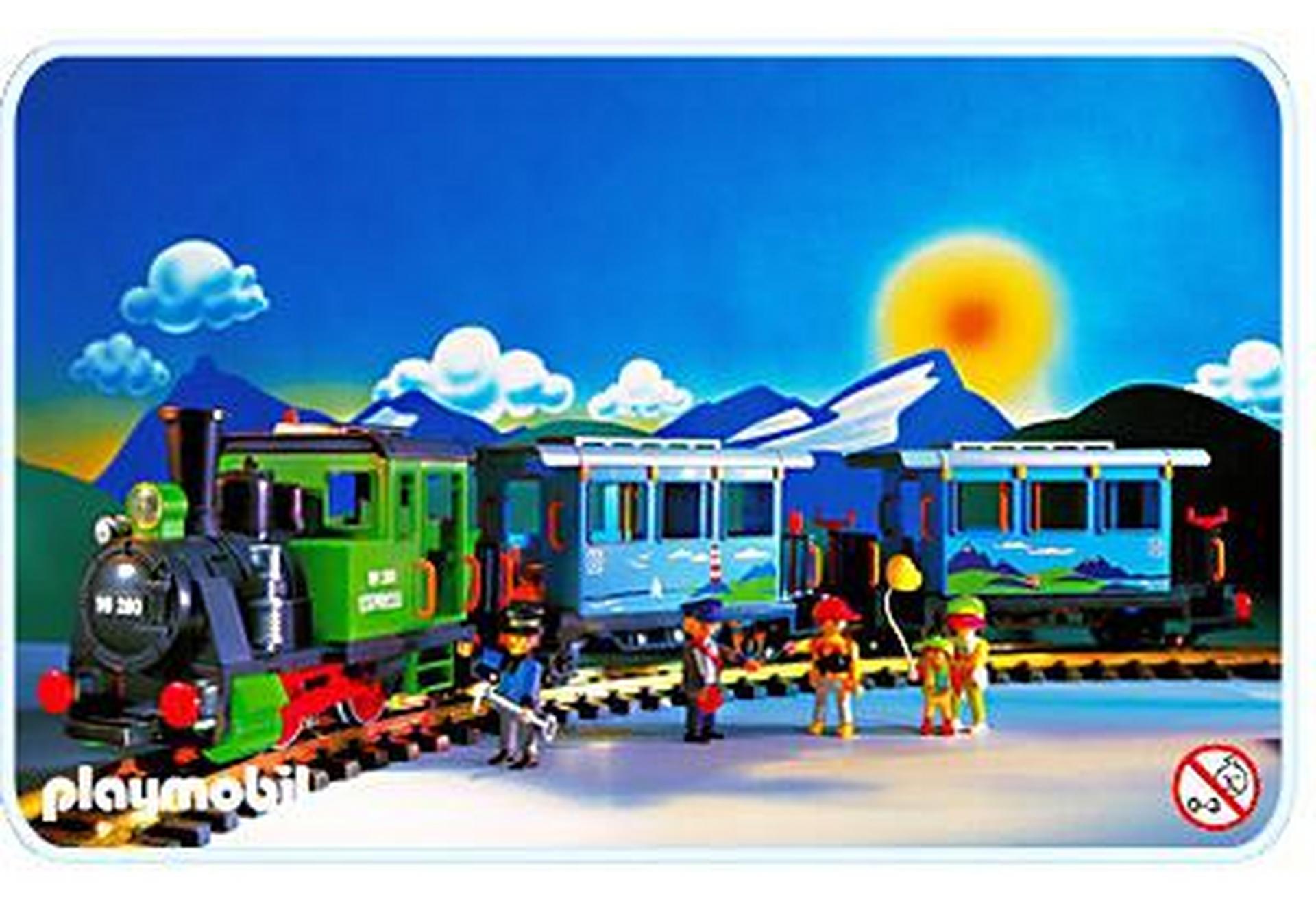 Train voyageurs 4005 a playmobil france - Train playmobil ...