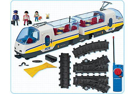 4011-A Voyageurs / train radiocommandé detail image 2