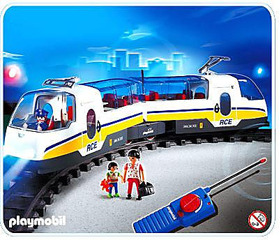 http://media.playmobil.com/i/playmobil/4011-A_product_detail/Voyageurs / train radiocommandé
