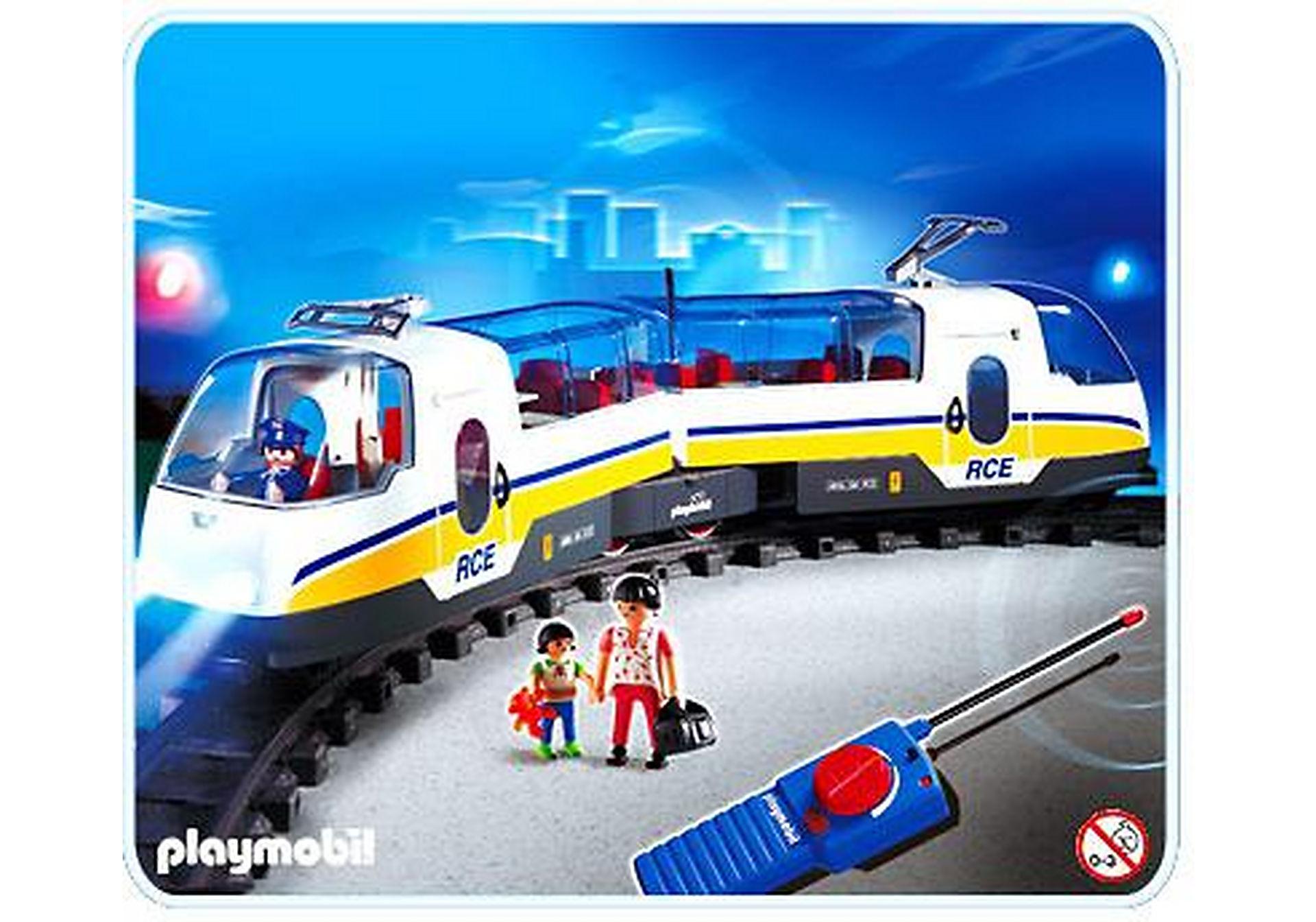4011-A Voyageurs / train radiocommandé zoom image1