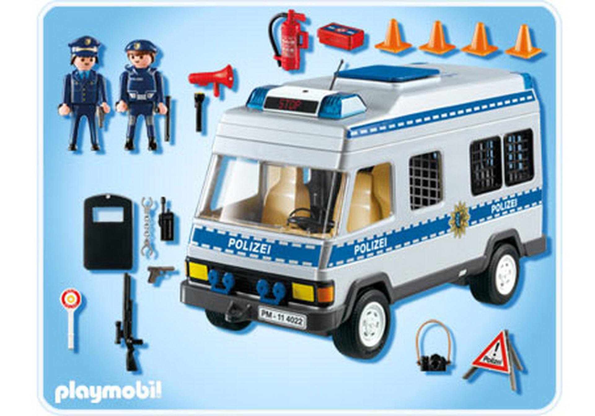 mannschaftswagen 4022 a playmobil deutschland. Black Bedroom Furniture Sets. Home Design Ideas