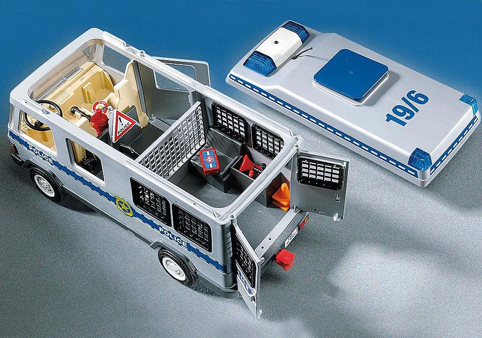 4023 Fourgon équipé et policiers detail image 4