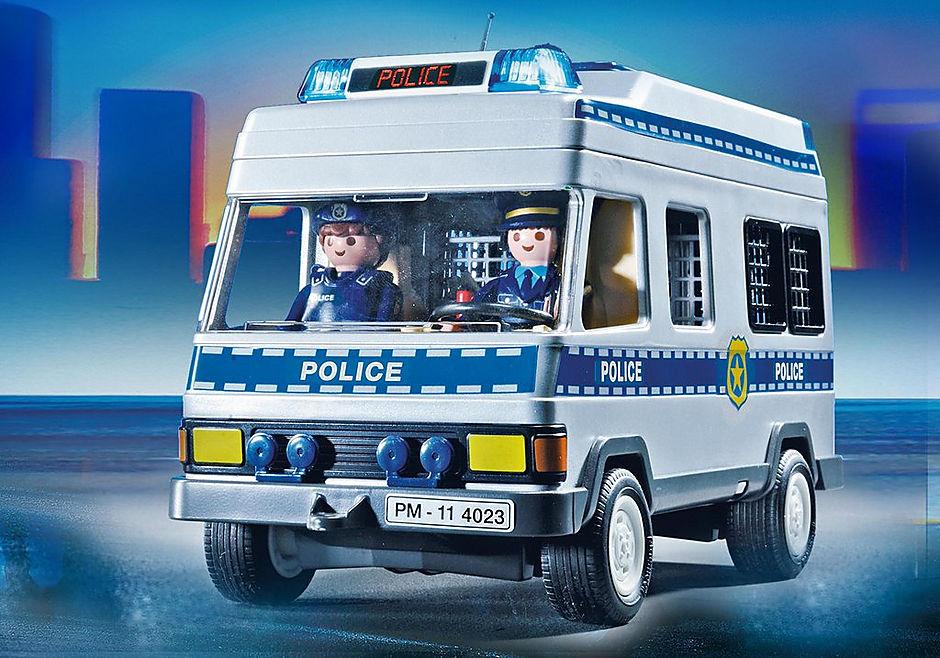 4023 Fourgon équipé et policiers detail image 5