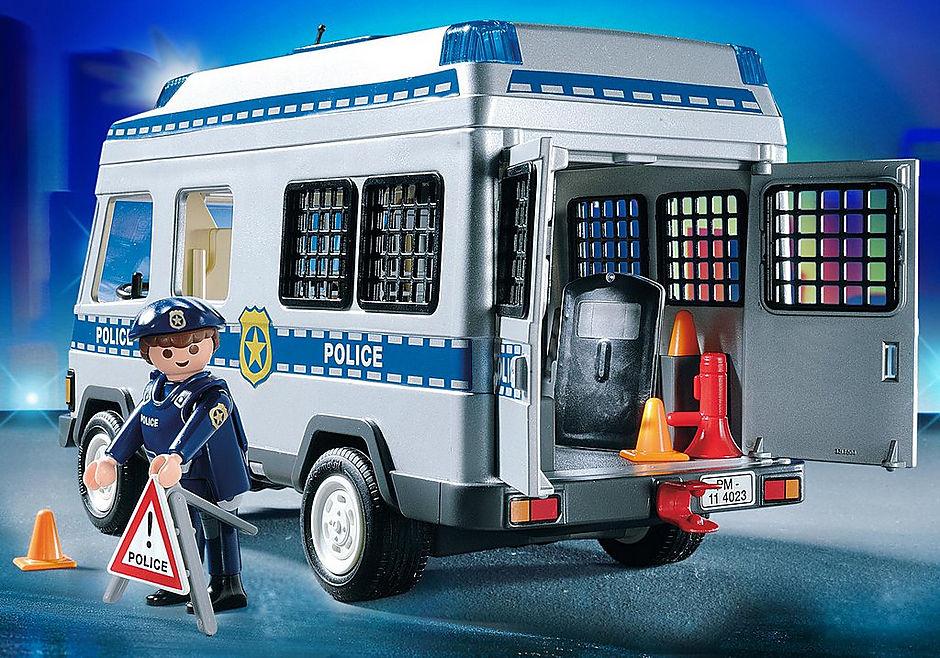 4023 Fourgon équipé et policiers detail image 6