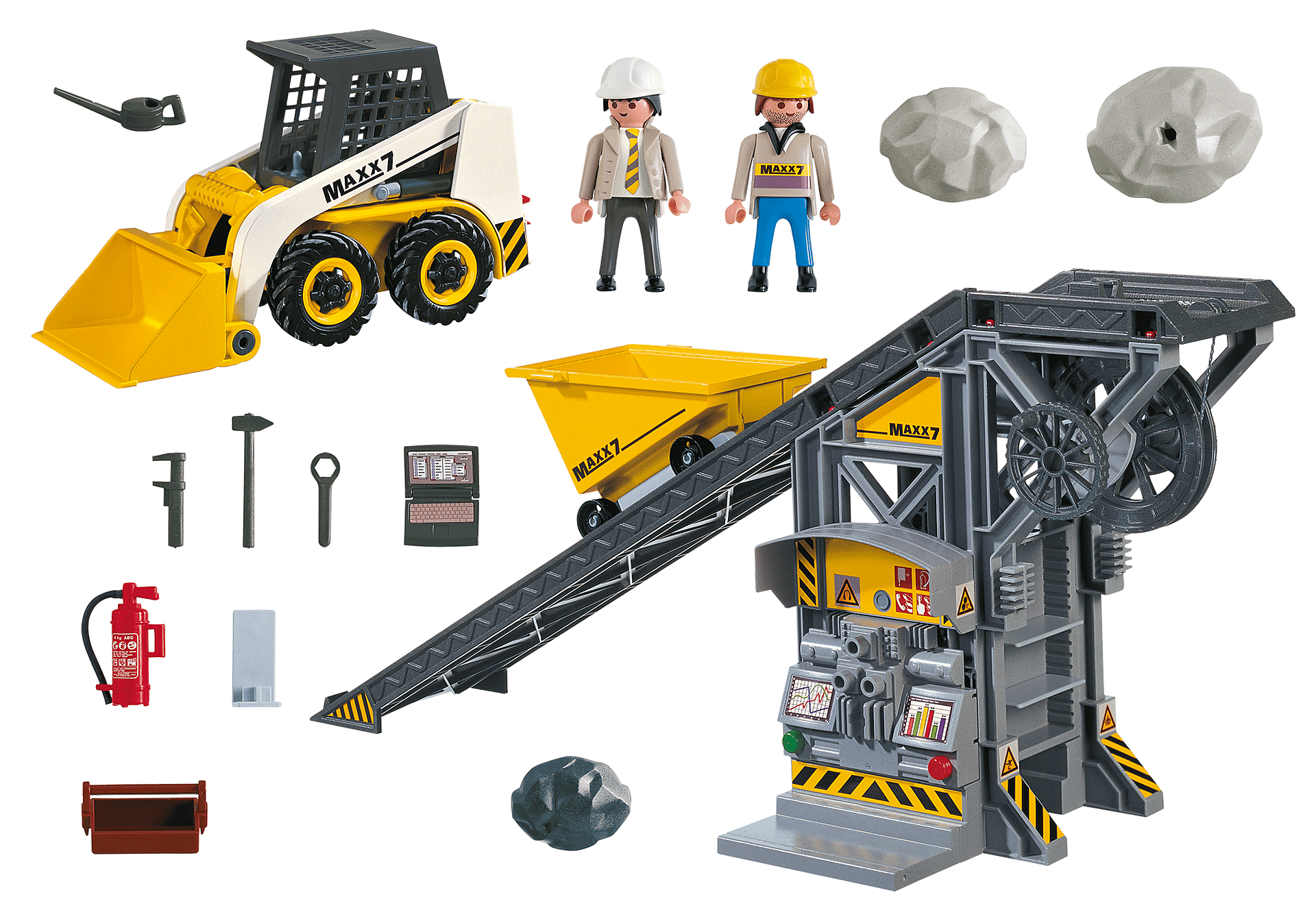 4041 Conveyor Belt with Mini Excavator zoom image3