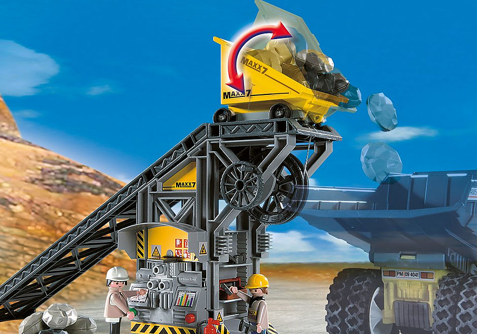 4041 Cinta Transportadora con Mini Excavadora detail image 6