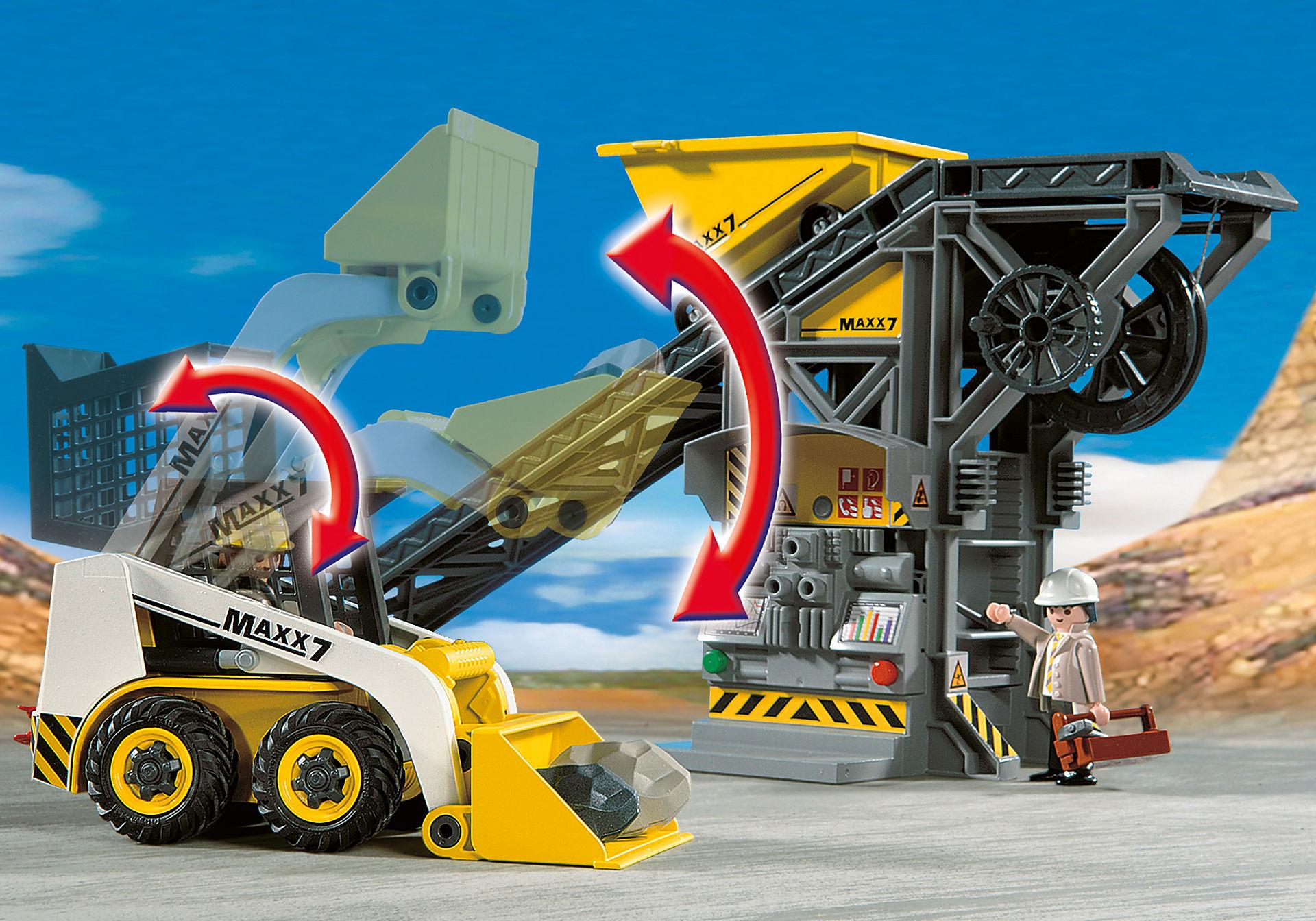 4041 Conveyor Belt with Mini Excavator zoom image7