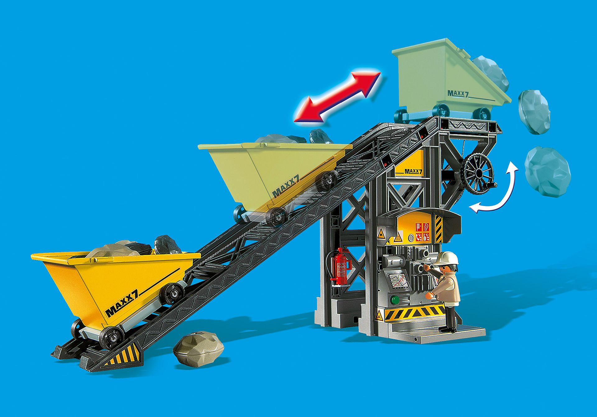 4041 Nastro trasportatore con mini scavatrice zoom image8