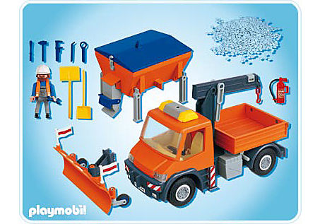 4046-A Straßenmeisterei-Fahrzeug detail image 2
